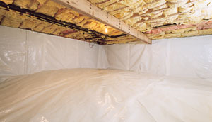 NV and CA Crawl Space Encapsulation - After